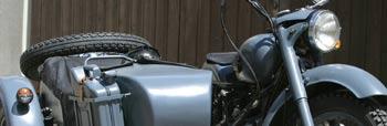 Cómo asegurar una moto con sidecar