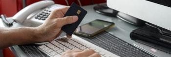 Usar tarjeta online